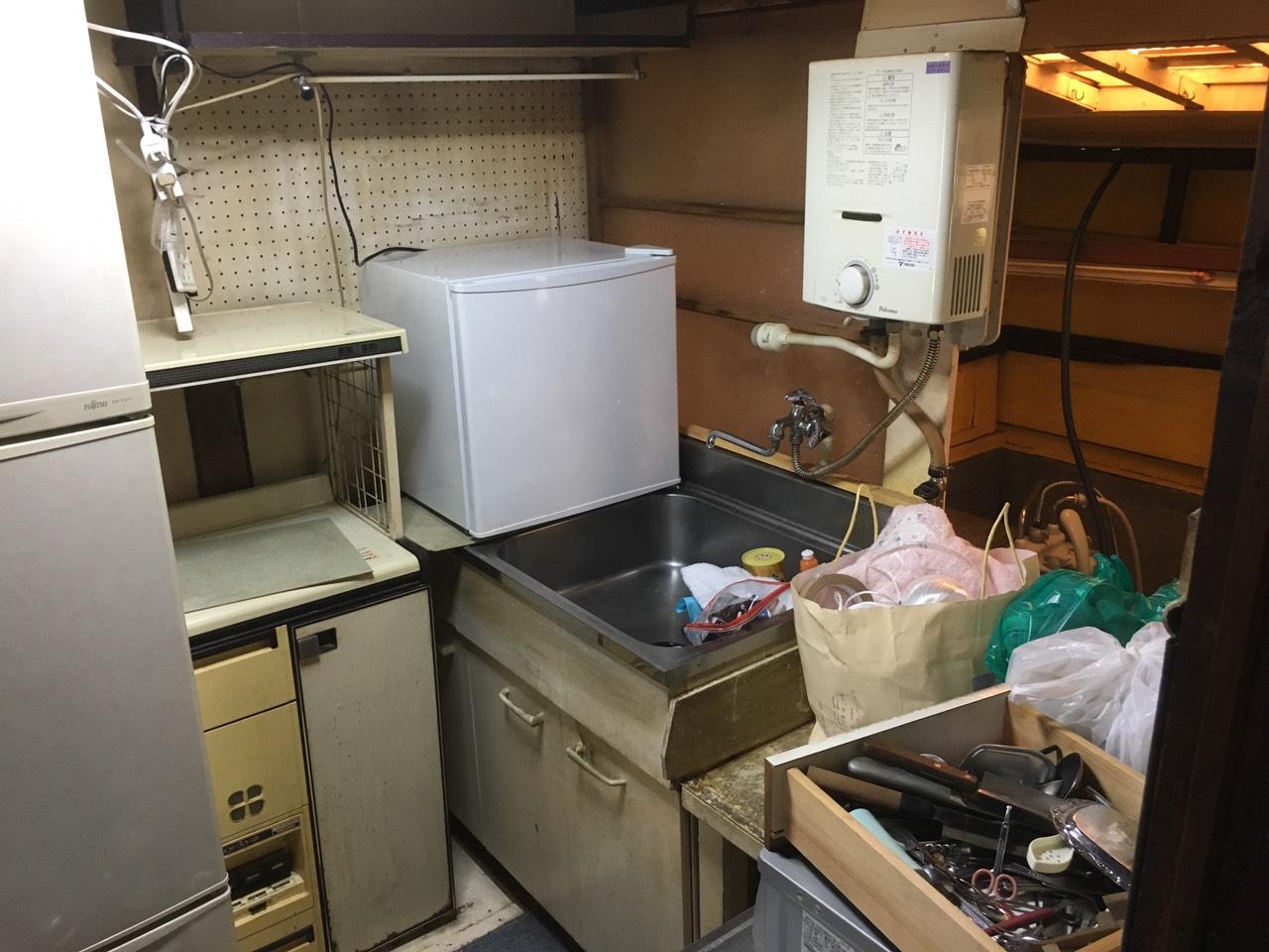 【愛知県名古屋市東区】キッチン周りの不用品回収