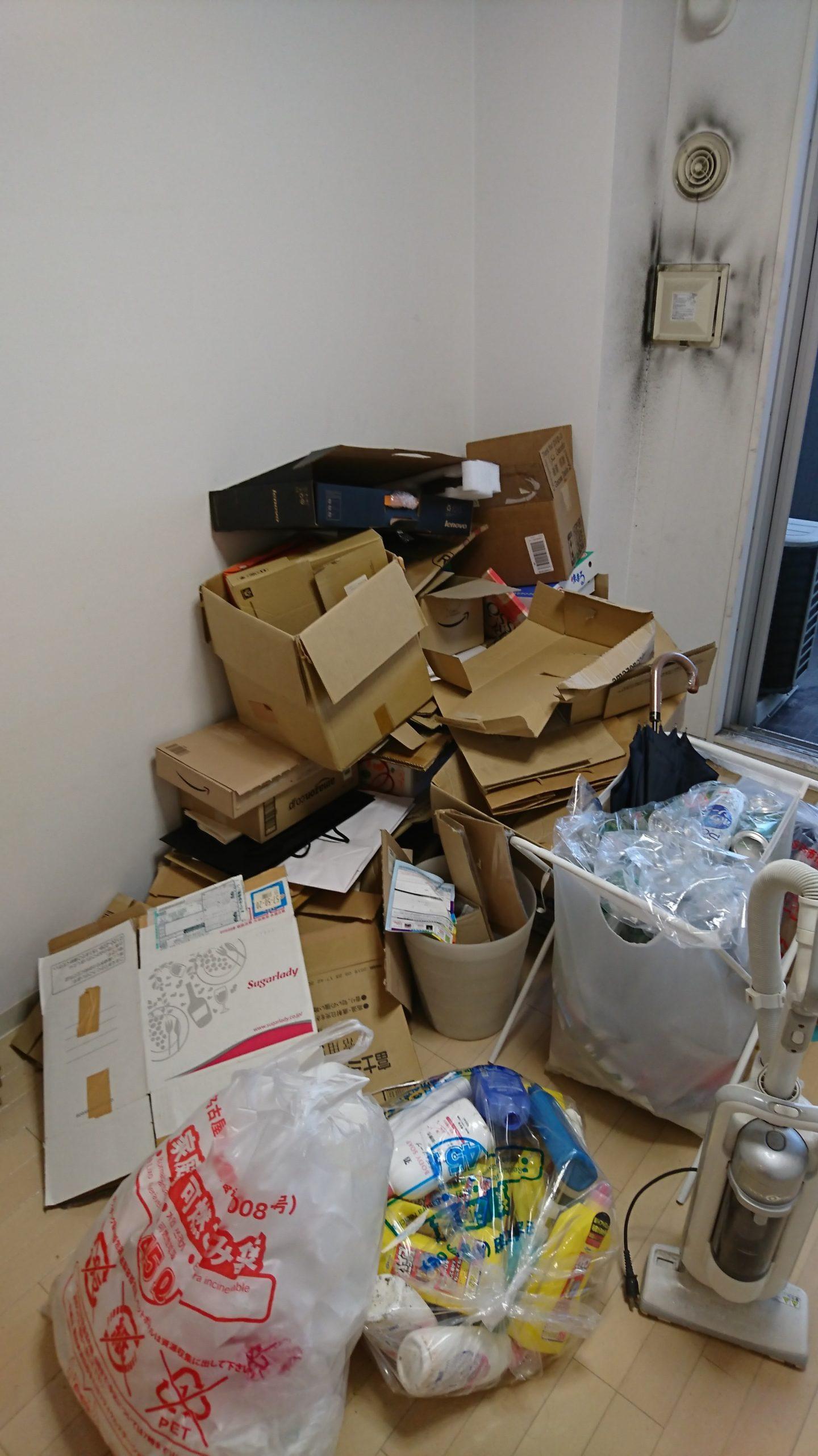 【愛知県名古屋市西区】引っ越しに伴う不用品の出張回収