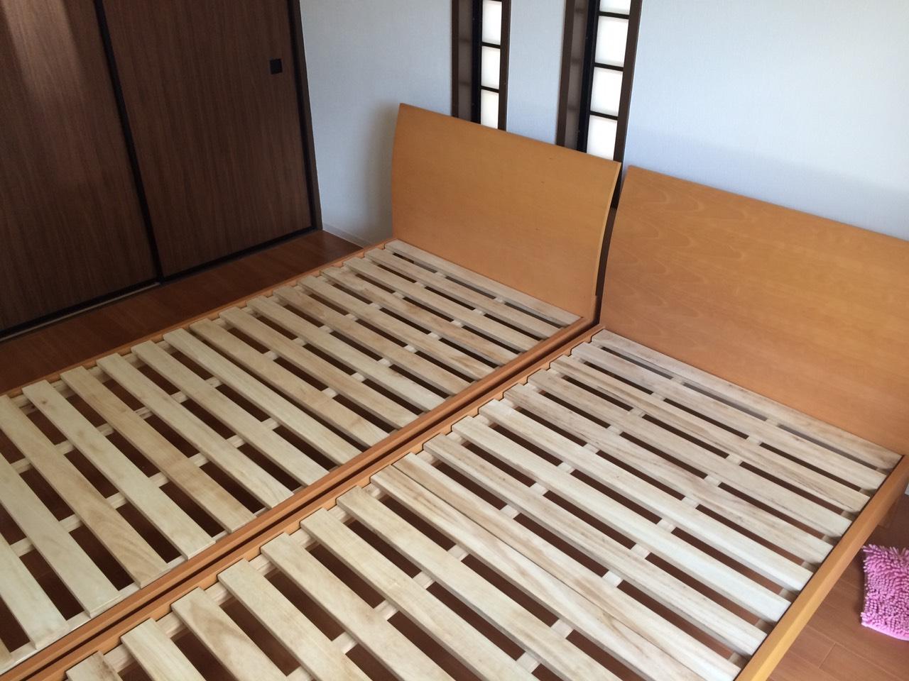 【愛知県名古屋市緑区】ベッドフレーム2点の出張回収