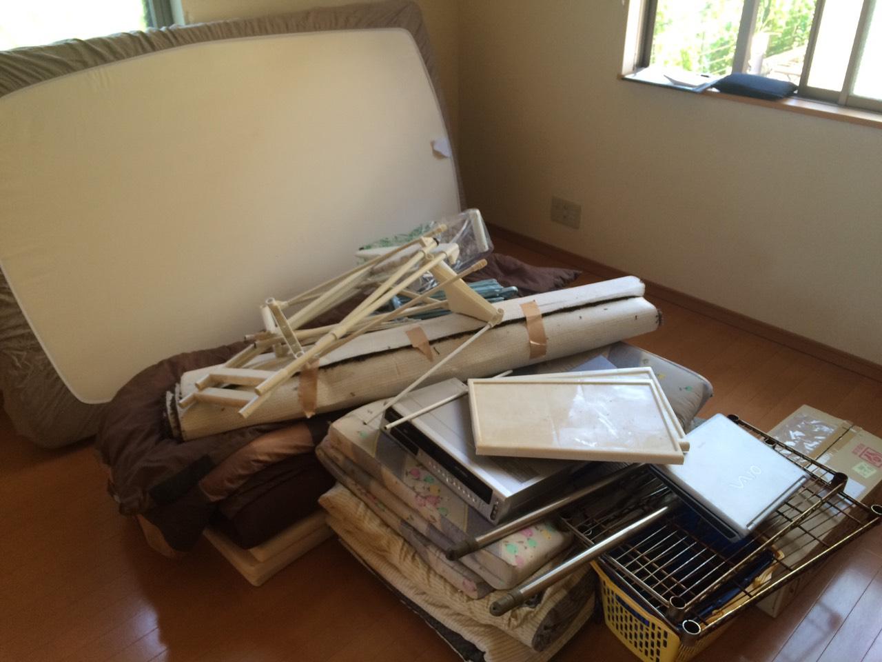 【愛知県日進市】ベッドマットなどの不用品回収
