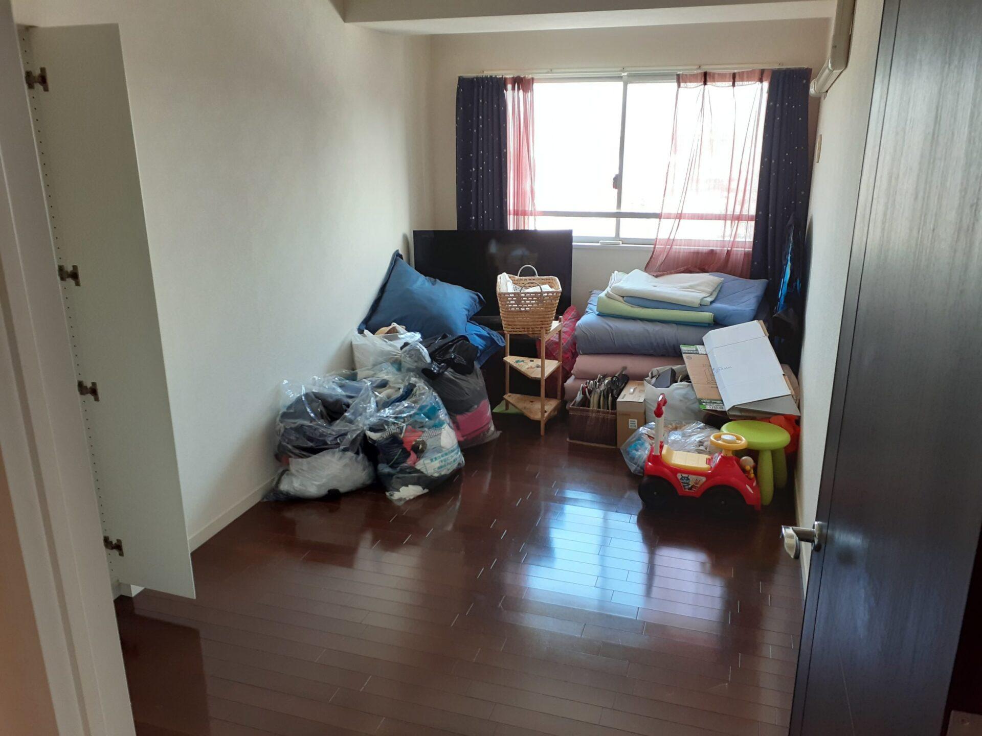 名古屋市名東区にて引っ越し後の不用品回収